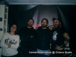 Carnal Redemption @ Studio (Visions Of Metal)