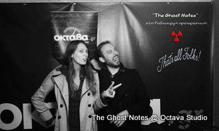 The Ghost Notes @ Studio (Ραδιοενεργή Προπαρασκευή)