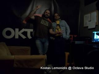 Κώστας Λεμονίδης @ Studio (Ραδιοενεργή Προπαρασκευή)
