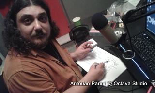 Αντουάν Παρινί @ Studio (Ραδιοενεργή Προπαρασκευή)