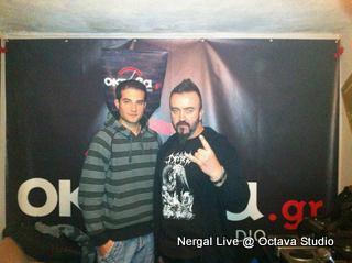 Nergal @ Studio (OTM)