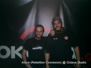 Afaza (Rebellion Connexion) @ Studio (Λεύτερες Πέμπτες)